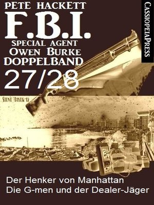 cover image of FBI Special Agent Owen Burke Folge 27/28--Doppelband