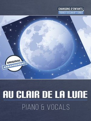 cover image of Au clair de la lune