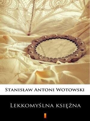 cover image of Lekkomyślna księżna