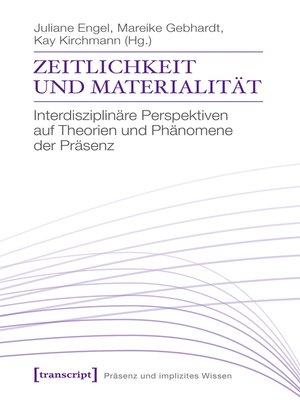 cover image of Zeitlichkeit und Materialität