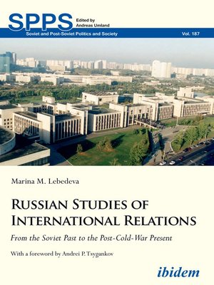 cover image of Russian Studies of International Relations