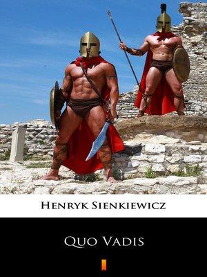 cover image of Quo Vadis