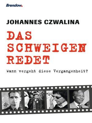cover image of Das Schweigen redet