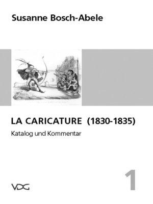 cover image of La Caricature (1830-1835)