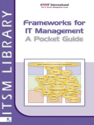 cover image of Frameworks for IT Management