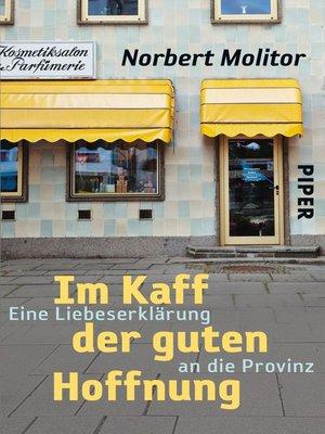 cover image of Im Kaff der guten Hoffnung