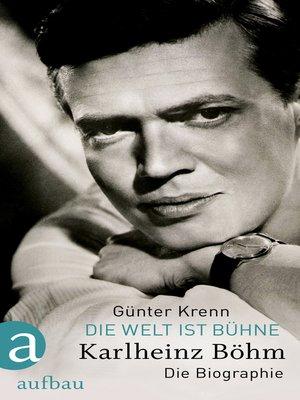 cover image of Die Welt ist Bühne