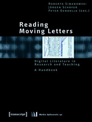 cover image of Reading Moving Letters