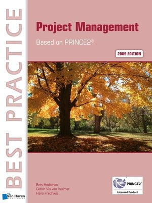 cover image of Project Management  Based on PRINCE2® 2009 edition