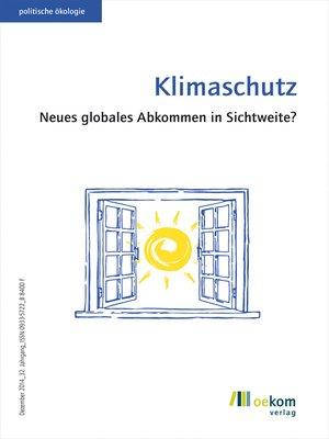 cover image of Klimaschutz
