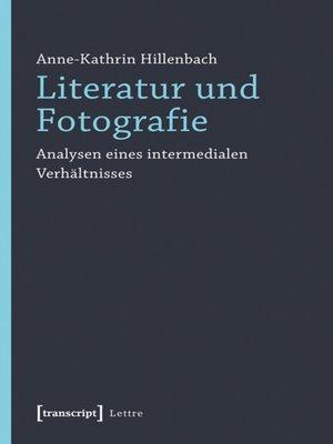 cover image of Literatur und Fotografie
