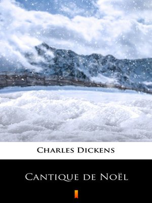 cover image of Cantique de Noël