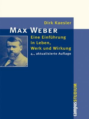 history of max weber Richard bellamy took up the directorship of the max weber programme richard's main research interests are in the history of european social and political theory.