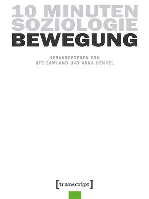 cover image of Serie 10 Minuten Soziologie, Buch 3