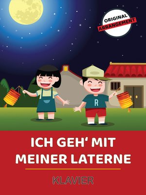 cover image of Ich geh' mit meiner Laterne
