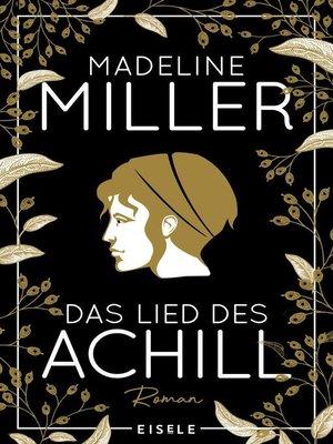 cover image of Das Lied des Achill
