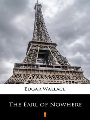 cover image of The Earl of Nowhere