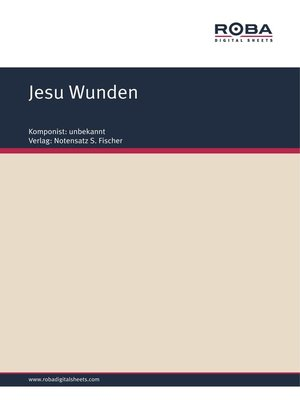 cover image of Jesu Wunden