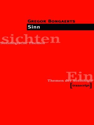 cover image of Sinn