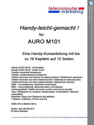 cover image of AURO M101 leicht-gemacht