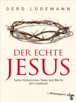 cover image of Der echte Jesus