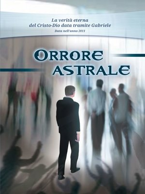 cover image of Orrore astrale