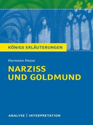 cover image of Narziß und Goldmund. Königs Erläuterungen.