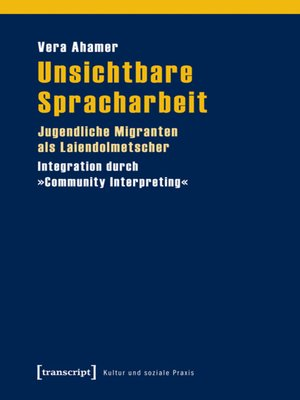 cover image of Unsichtbare Spracharbeit