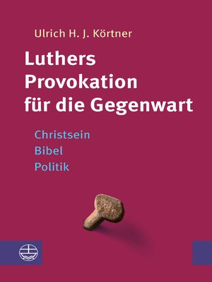 cover image of Luthers Provokation für die Gegenwart