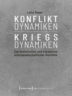 cover image of Konfliktdynamiken