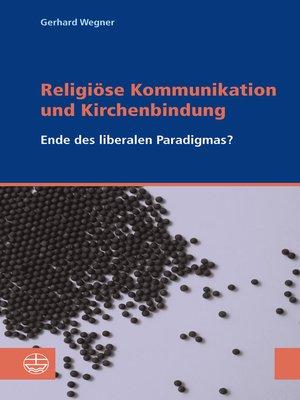 cover image of Religiöse Kommunikation und Kirchenbindung