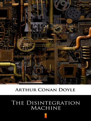 cover image of The Disintegration Machine