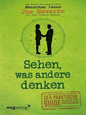 cover image of Sehen, was andere denken