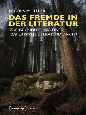cover image of Das Fremde in der Literatur