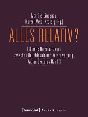 cover image of Alles relativ?