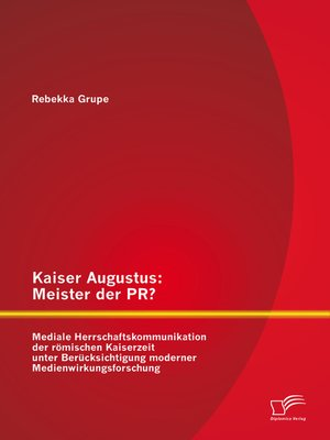 cover image of Kaiser Augustus