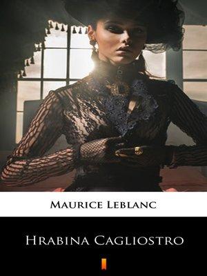cover image of Hrabina Cagliostro