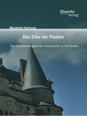 cover image of Das Erbe der Piasten
