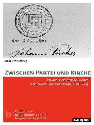 cover image of Zwischen Partei und Kirche