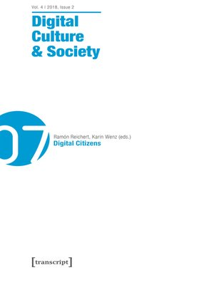 cover image of Digital Culture & Society (DCS)