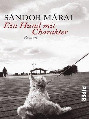 cover image of Ein Hund mit Charakter