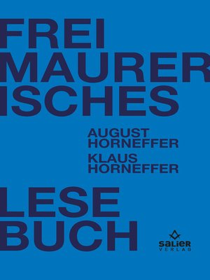 cover image of Freimaurerisches Lesebuch