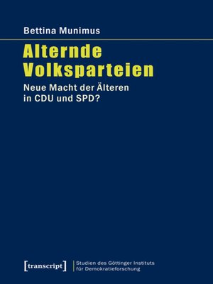 cover image of Alternde Volksparteien
