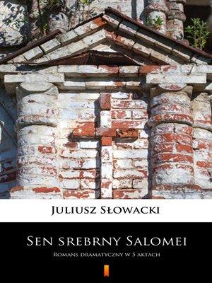 cover image of Sen srebrny Salomei
