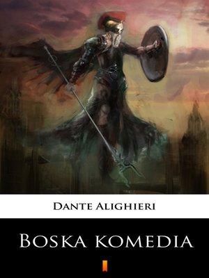 cover image of Boska komedia