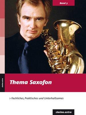 cover image of Thema Saxofon