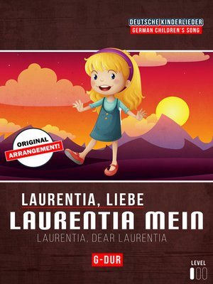 cover image of Laurentia, liebe Laurentia mein