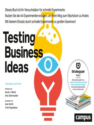 cover image of Testing Business Ideas