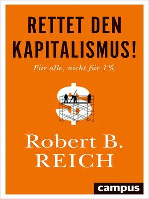 cover image of Rettet den Kapitalismus!