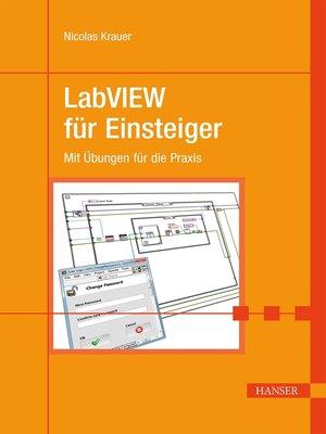 cover image of LabVIEW für Einsteiger